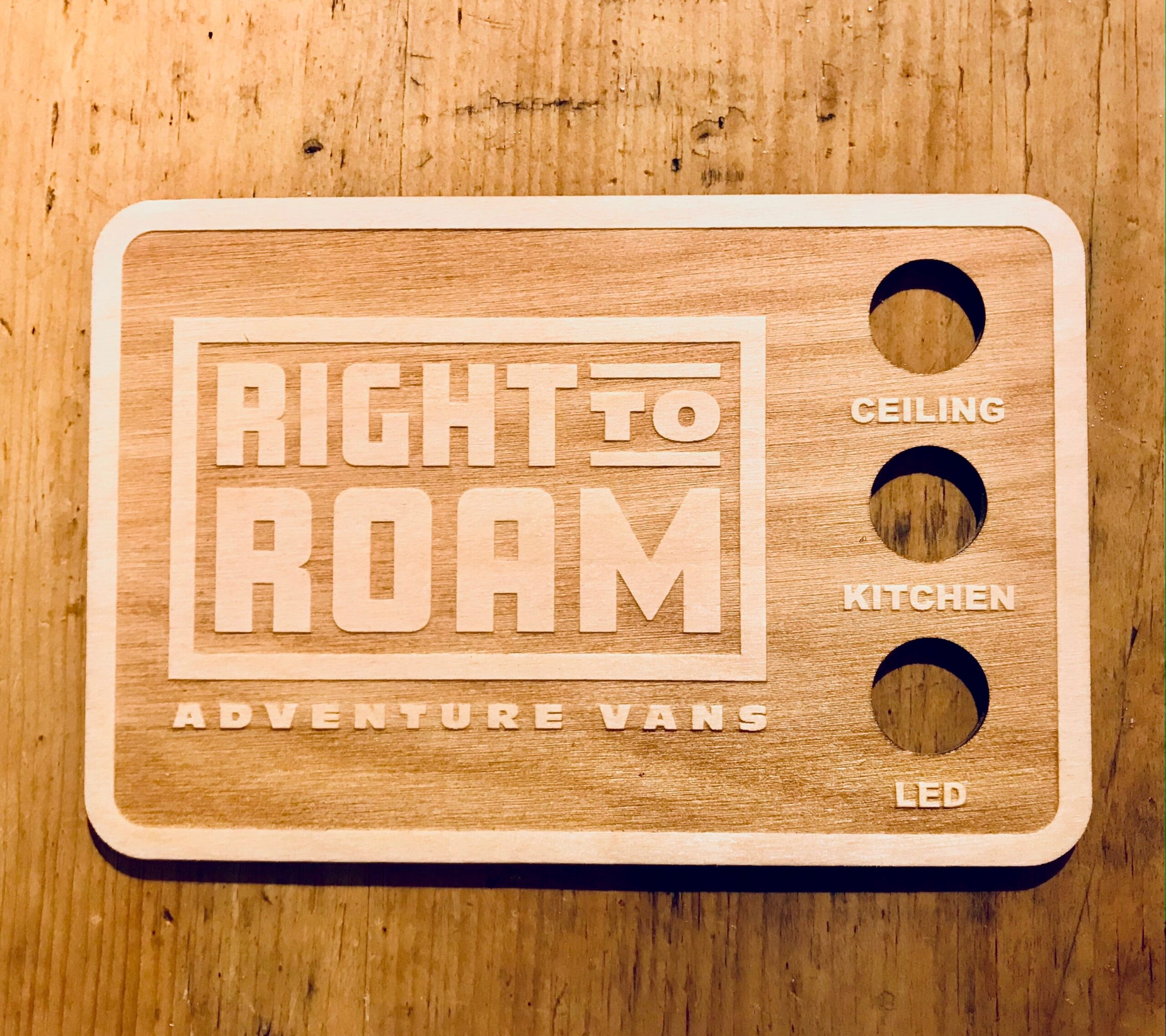 Right to Roam Switch Plate